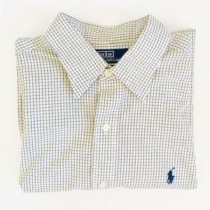 Polo Ralph Lauren Yellow/Blue Plaid Button Down